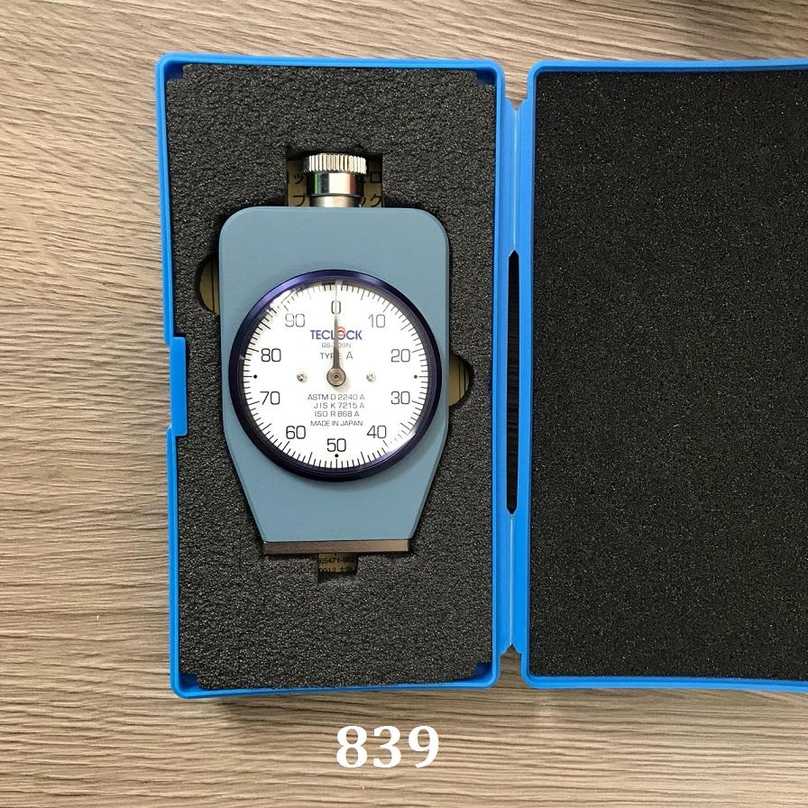 Sủa chữa Đồng hồ đo độ cứng cao su loại a GS-709N /TYPE A Teclock