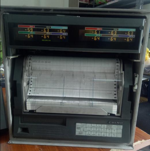 Sửa chữa lỗi không hoạt động cho máy ghi AH3725-NOO  Chino