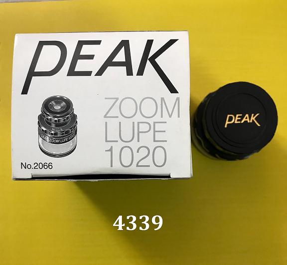Hiệu chuẩn kính lúp cầm tay có thước đo tiêu chuẩn 2066 Peak
