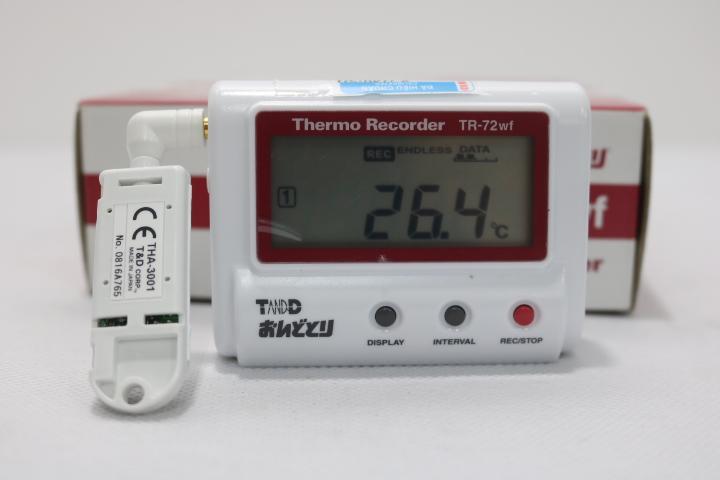 Hiệu chuẩn cho nhiệt ẩm kế tự ghi TR-72WB TANDD