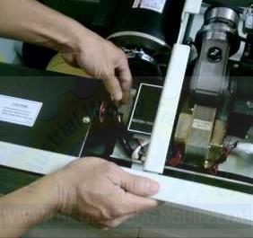 Bộ biến nhiệt trong máy JN-740 . Chali
