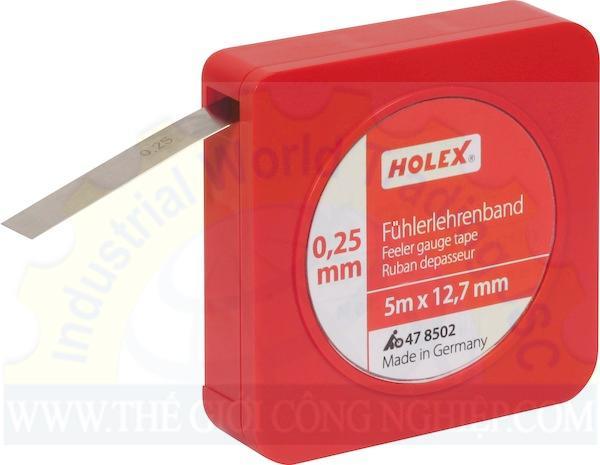 Căn lá dạng cuộn 12.7mm x 5m 478502 Holex