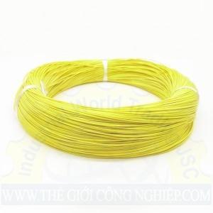 Dây điện Cu/PVC màu vàng IV-1.25mm2 TAYA