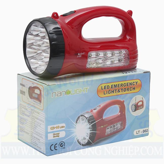 Đèn pin LED sạc 220V LT-002 Nanolight