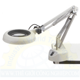Kính lúp kẹp bàn dùng đèn Led, có độ phóng đại 8 lần ENVL-F 8X OTSUKA