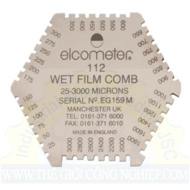 Lược đo độ dày lớp sơn ướt bằng Nhôm ( B112AL12473-3) ELCOMETER 112AL ELCOMETER