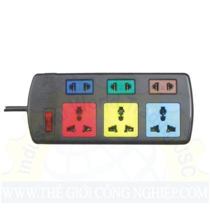Ổ cắm điện 3D+3S dây 3mx2 3D3S32 LIOA