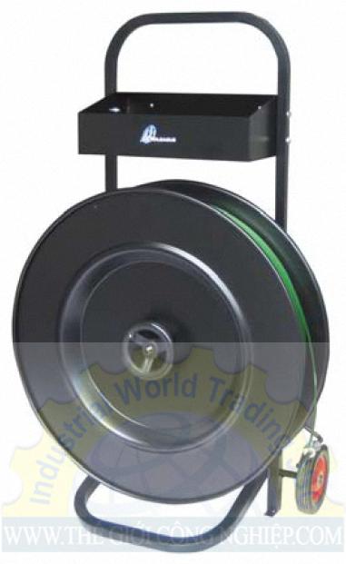 Xe đẩy cuộn dây đai nhựa DM400 Macroleague