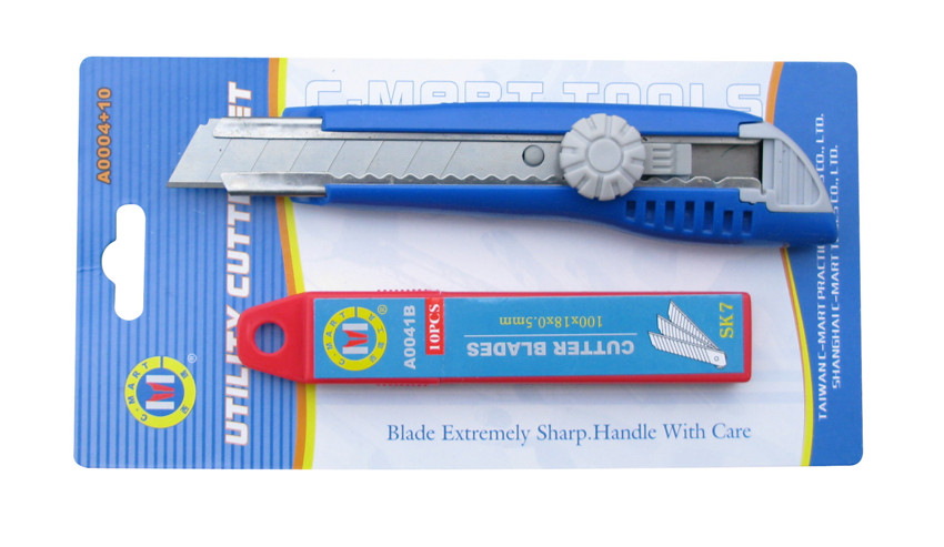bộ dao cắt tiện ích + lưỡi dao A0004+10 C'mart