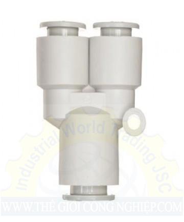 Đầu nối khí chữ Y KQ2U08-00A SMC