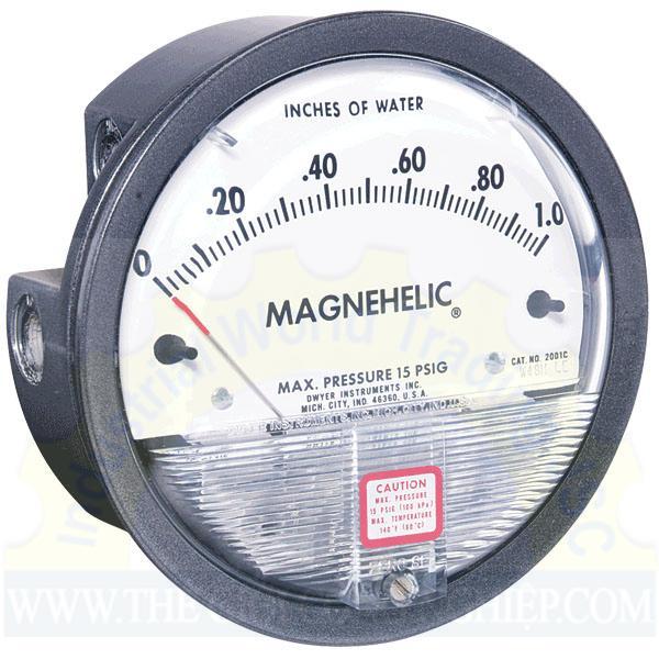 Đồng hồ đo chênh áp 2000-500pa DWYER