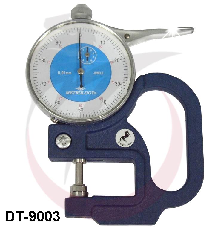 Đồng hồ đo độ dày 0-10mm  DT-9003 Metrology