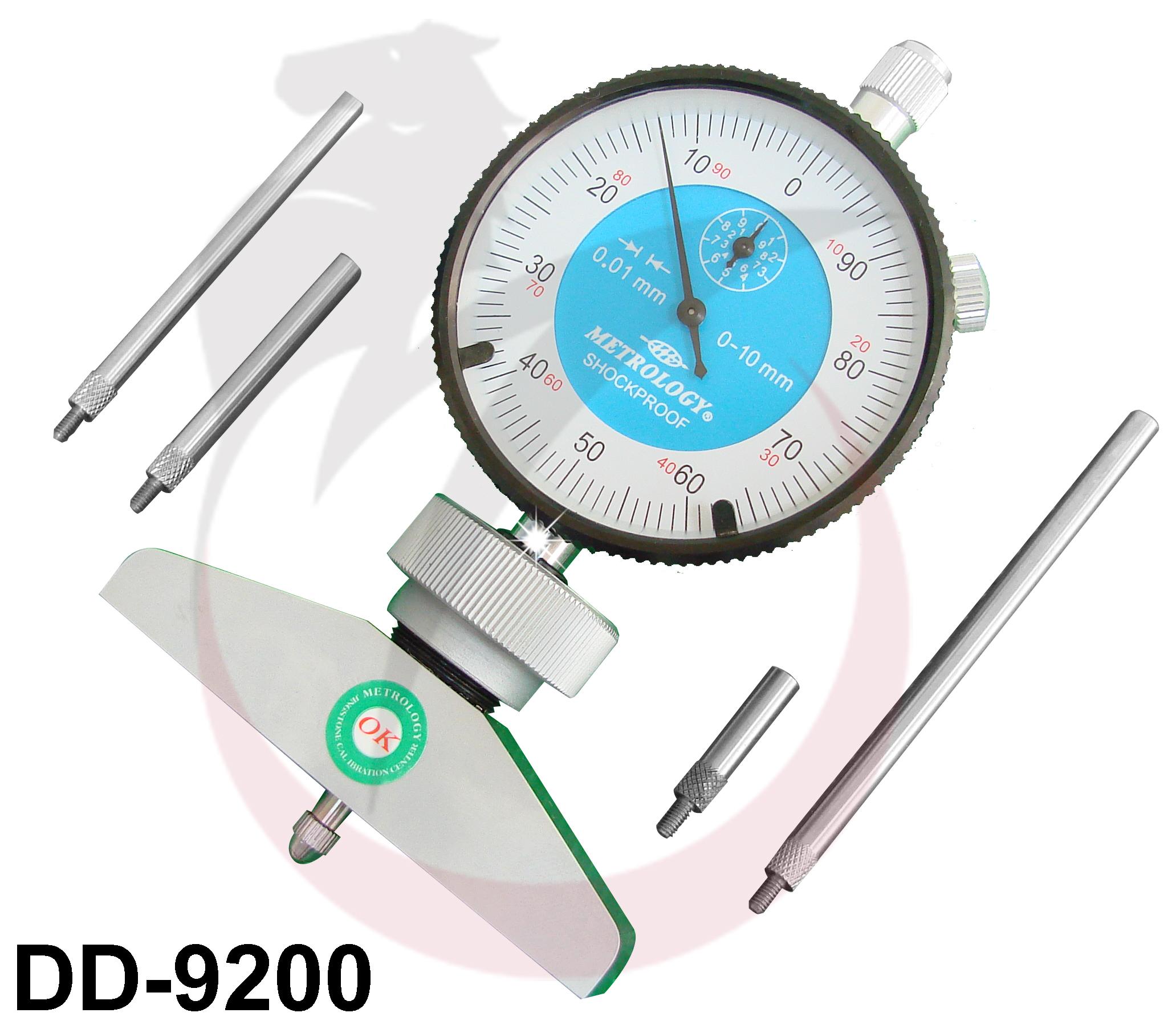 Đồng hồ đo sâu 0-200mm DD-9200 Metrology