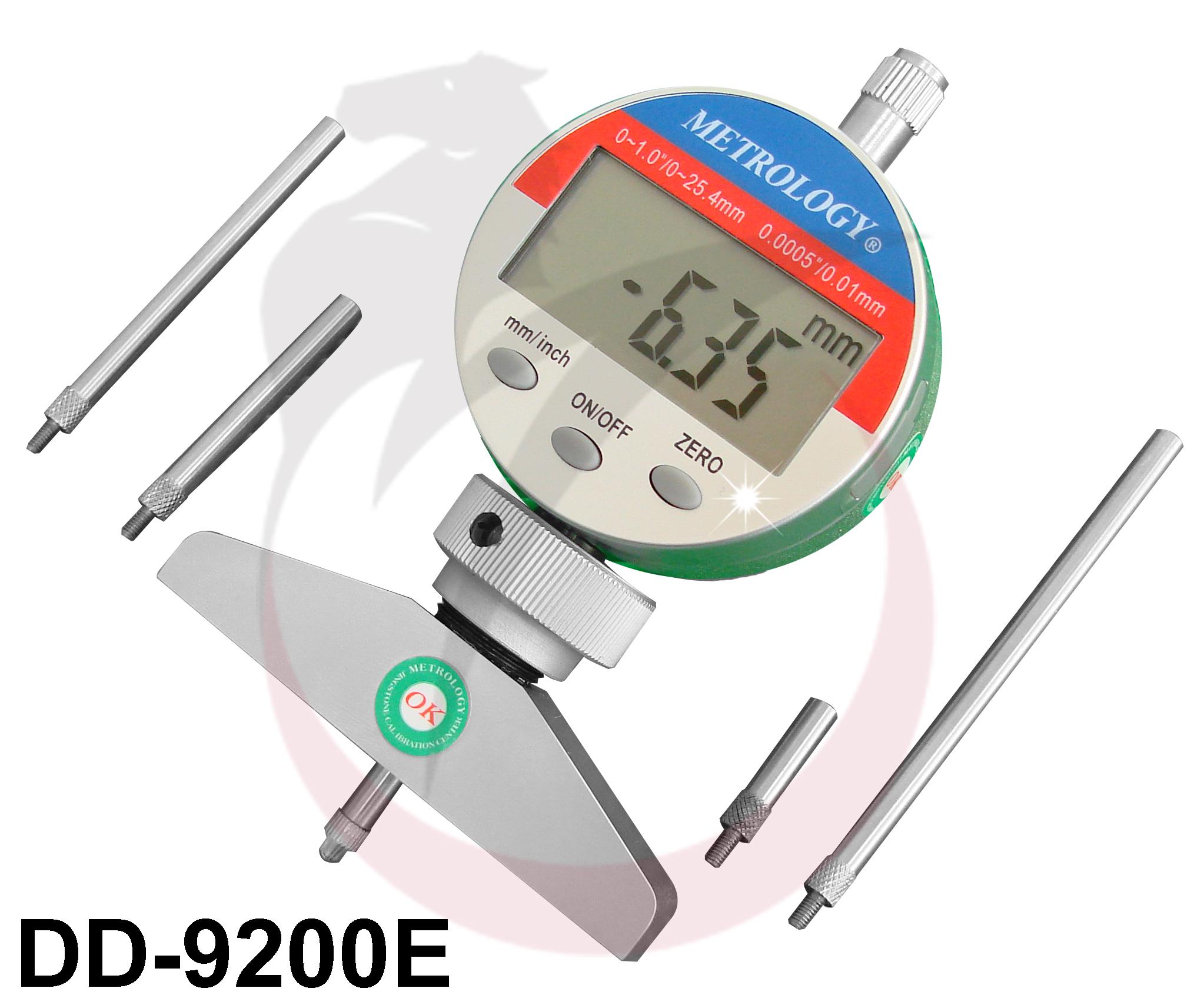 """Đồng hồ đo sâu 0-200mm/8"""" DD-9200E Metrology"""