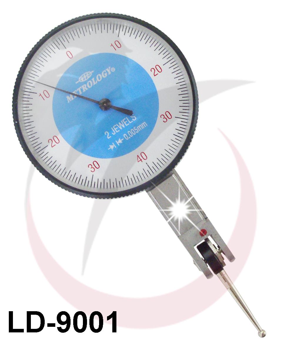 Đồng hồ so chân gập 0-0.8mm LD-9001 Metrology