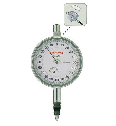 Đồng hồ so chân thẳng 1mm  5-SWF PEACOCK