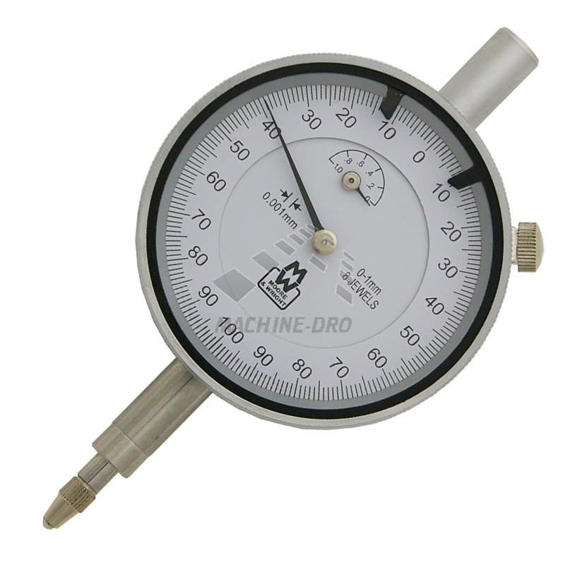 Đồng hồ so cơ 0-1mm  MW400-02 MooreAndWright