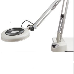 Kính lúp kẹp bàn dùng đèn Led LEKs WIDE-CF 2X OTSUKA
