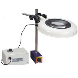 Kính lúp kẹp bàn dùng đèn Led LEKs WIDE- ST 2X OTSUKA