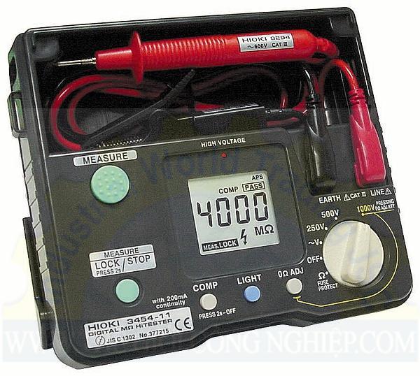 Máy đo điện trở cách điện 3454-11 HIOKI
