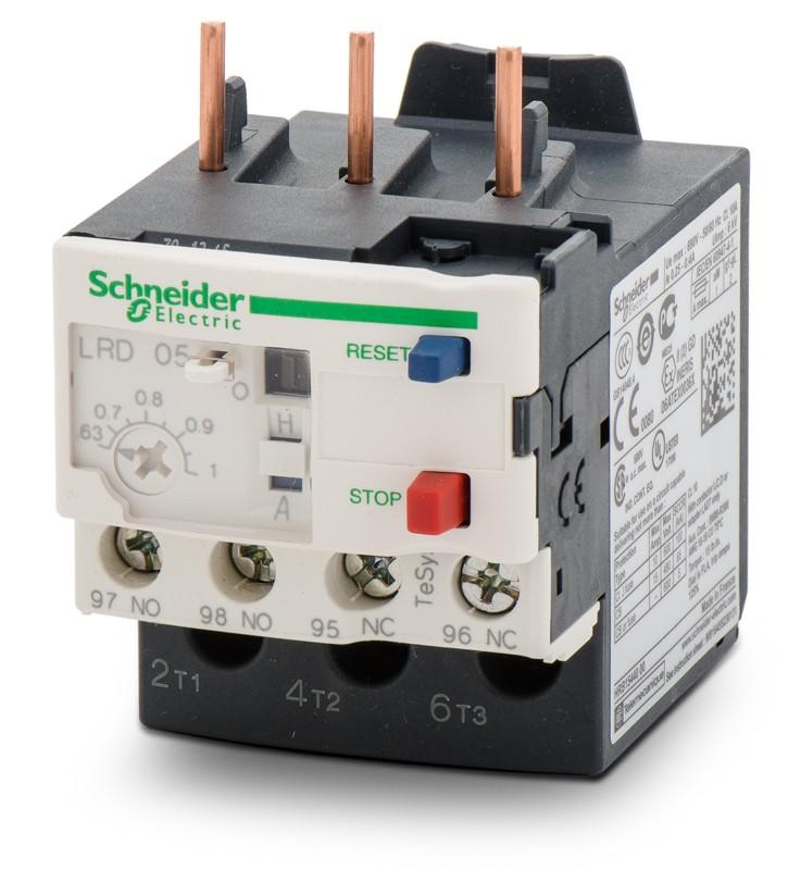 Rơ le nhiệt LRD08sai schneider-electric