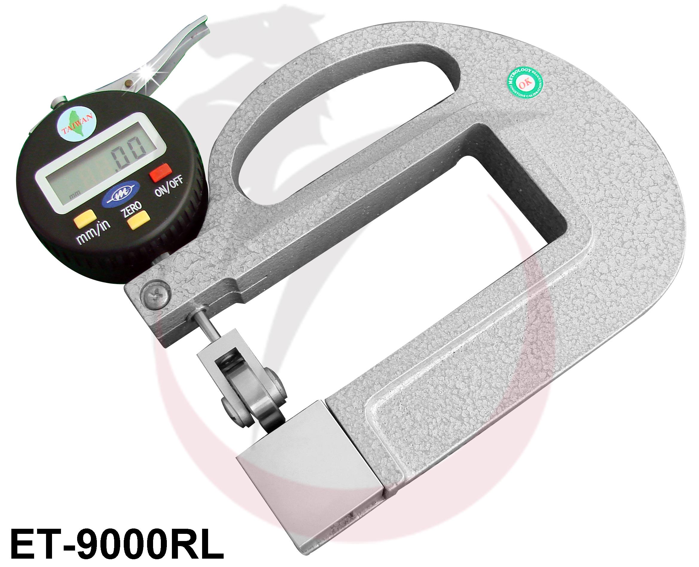 """Thiết bị đo độ dày điện tử 0-10mm/0.4"""" ET-9000RL Metrology"""