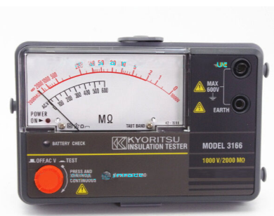 Đồng hồ đo điện trở cách điện 3166 KYORITSU
