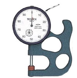 Đồng hồ đo độ dày điện tử có dải đo 0 ~ 17 mm  SM-112KN Teclock