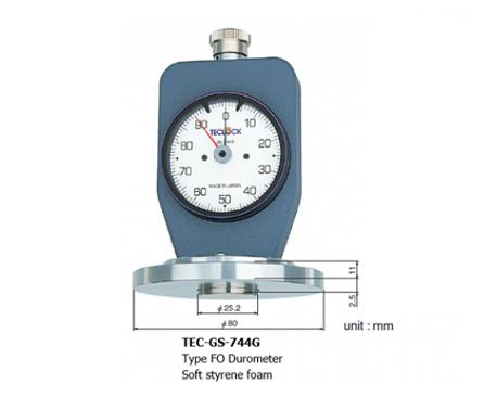 Máy đo độ cứng cao su GS-744G Teclock