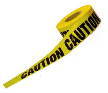 Băng cảnh báo màu vàng caution 100m x 15cm Vietnam