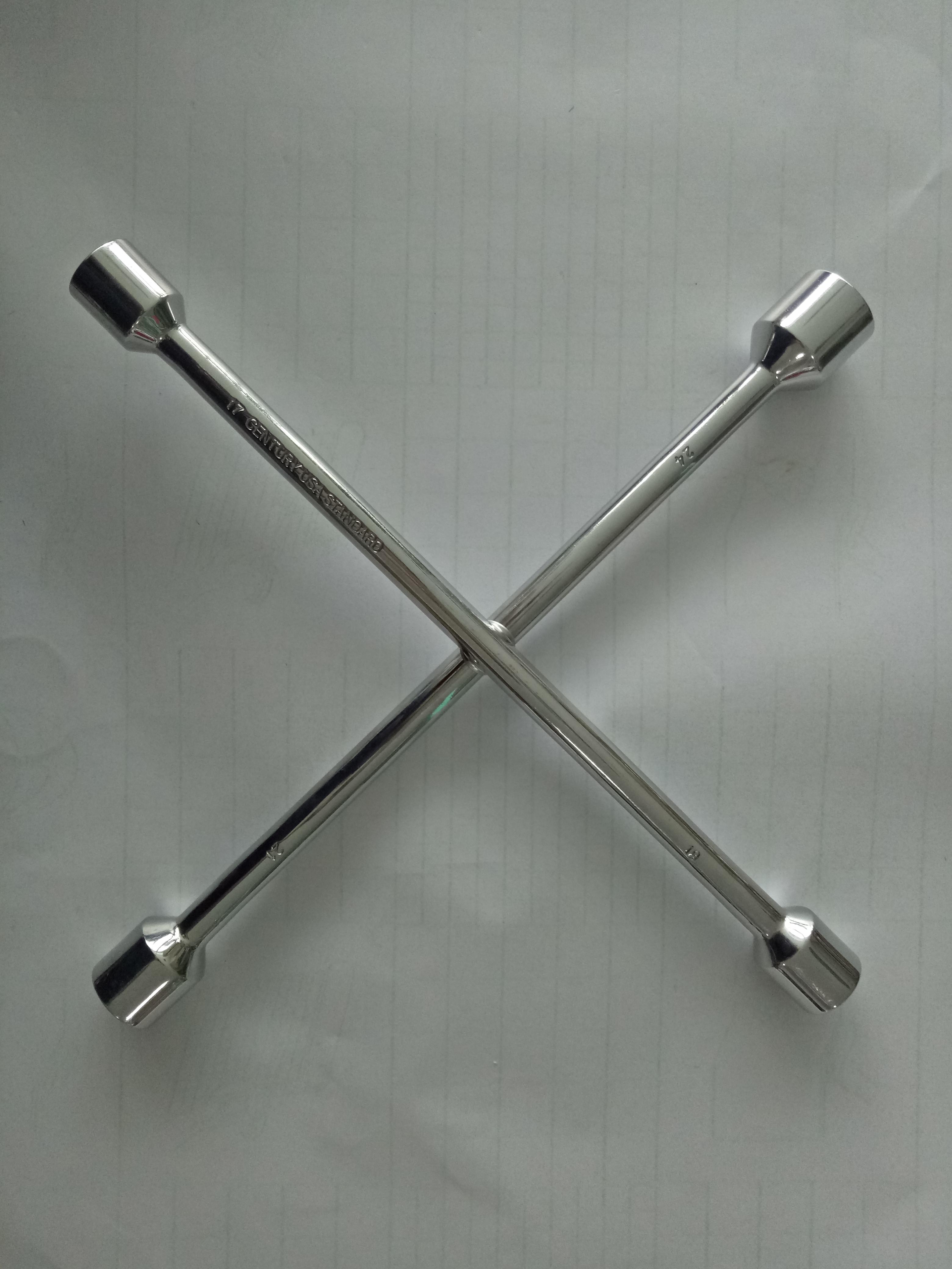 Cần chữ thập 3 đầu ( 17mm, 19mm, 21mm, 1/2 TGCN-13863 Century