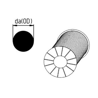 Que hàn nhựa PP-H đường kính 4mm Size : 12.410.0000.40 AGRU