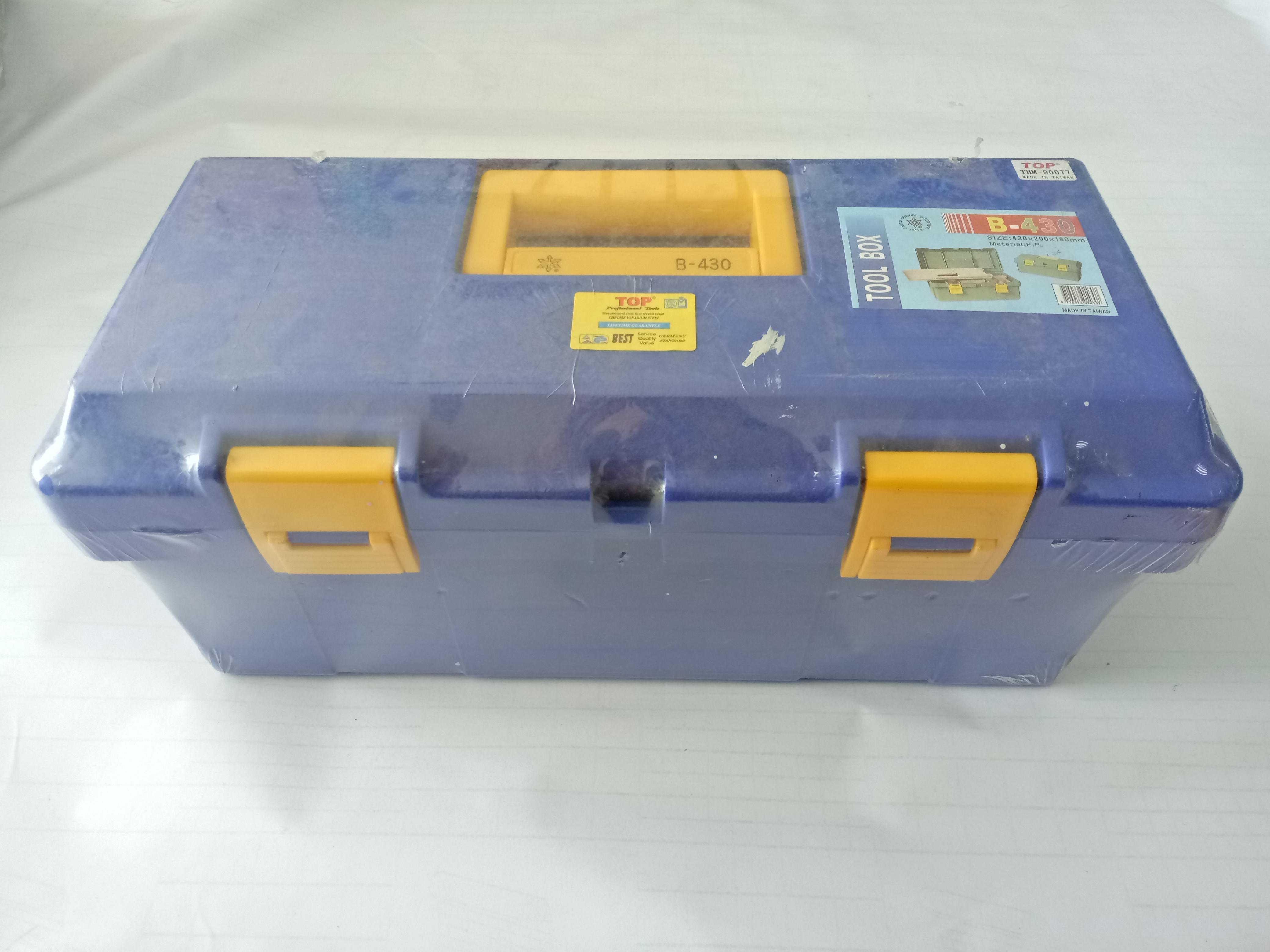 Thùng đồ nghề nhựa (430 x  200 x 180mm) B430 Top