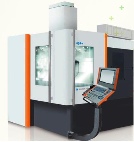 Máy phay CNC 5 trục  MIKRON Brochures  HPM450U Mikron