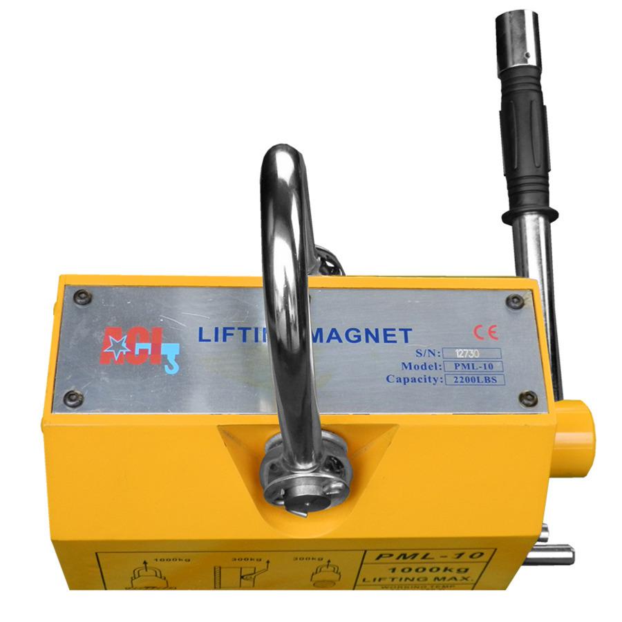 Nam châm nâng tay gạt 600kg PML-6 Aci