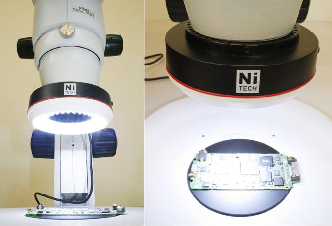 Đèn led cho kính hiển vi NI60-LED Nitech