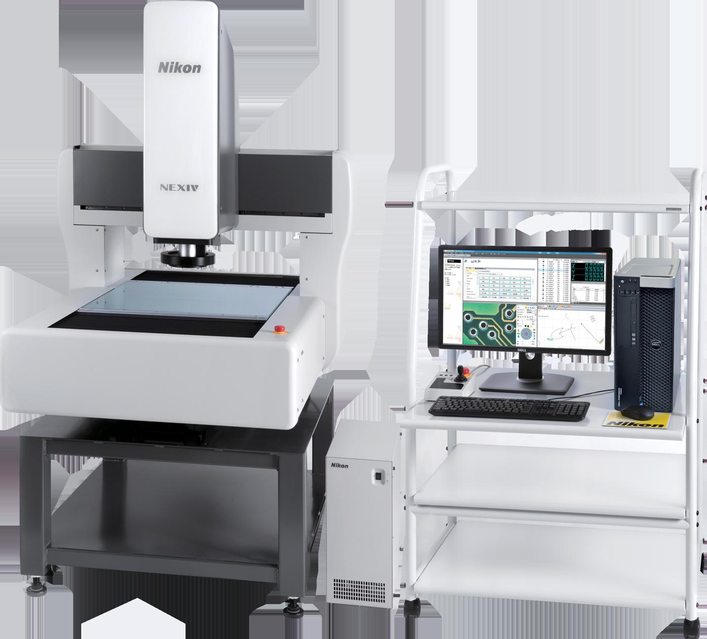 máy đo biên dạng 3D sử dụng quang Video VMZ-R4540 Type 1, 2, 3 NIKON