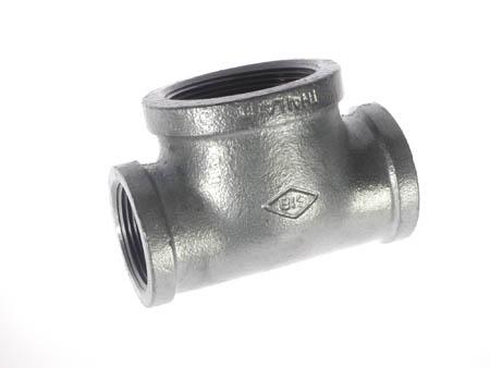 Nhánh ống (tee) ren trong SUS 304 - (25A x 10A) Size: 1 x 3/8 Thailand