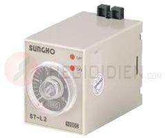 Timer 1s ~ 60min, 220VAC SHT-L1E-60M-220V (ST-L2) Sungho