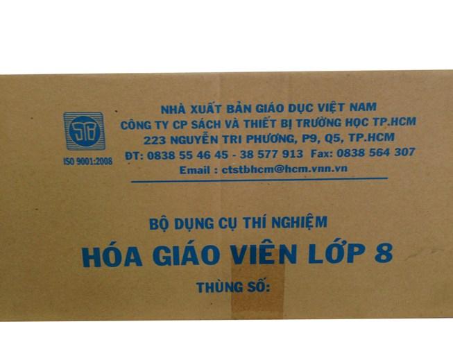 Bộ dụng cụ Hóa 8 (GV)-không cân  TGCN-18331 Vietnam