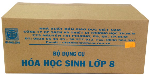 Bộ dụng cụ Hóa 8 (HS) TGCN-18333 Vietnam
