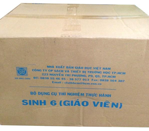 Bộ dụng cụ thực hành Sinh Lớp 6 (Giáo viên) TGCN-13 Vietnam