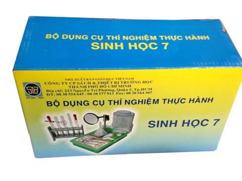 Bộ dụng cụ TN Sinh 7 (GV) BTNS07 Vietnam