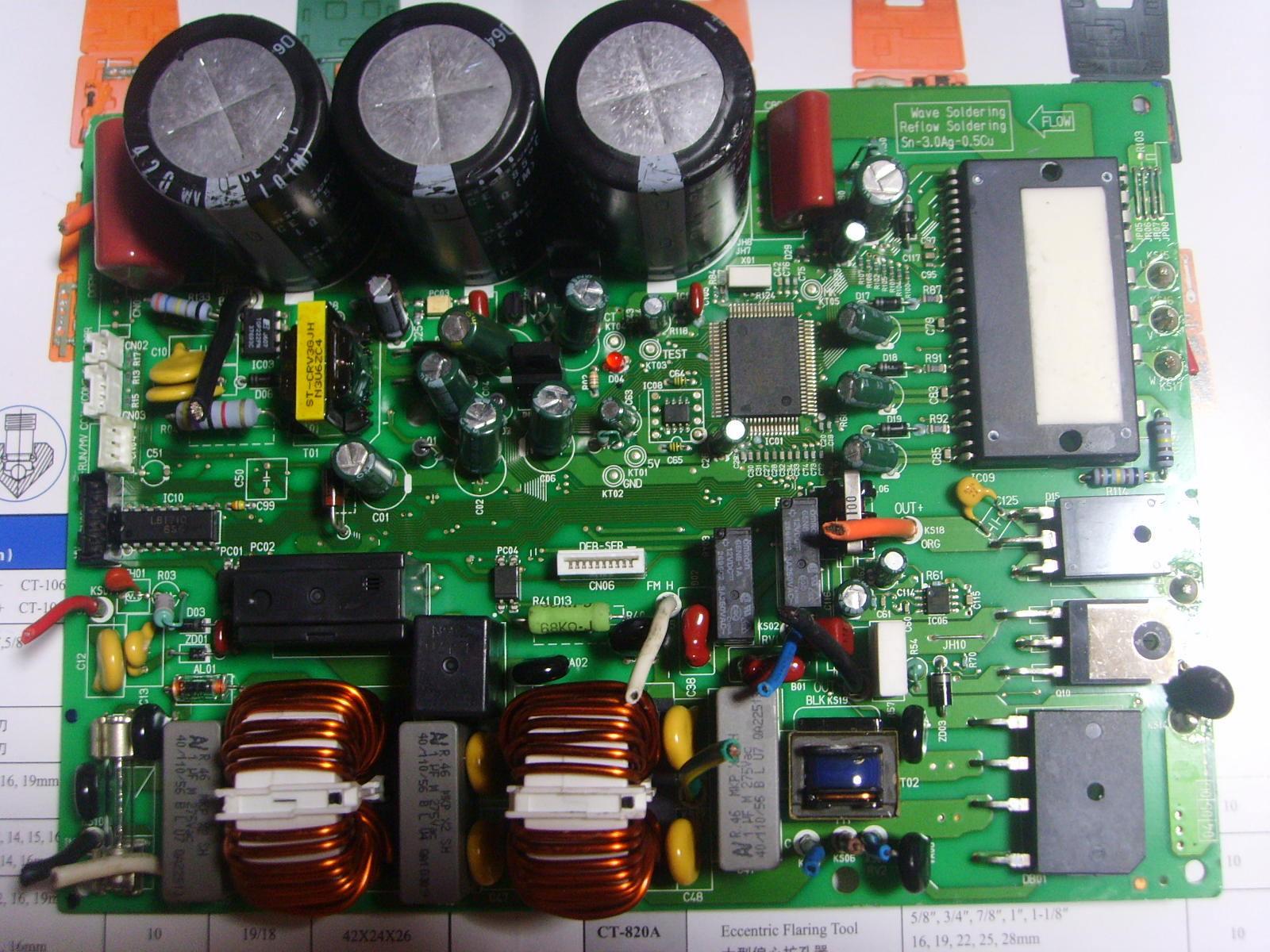 Board giàn nóng máy lanh Reetech 5HP RC48 REETECH