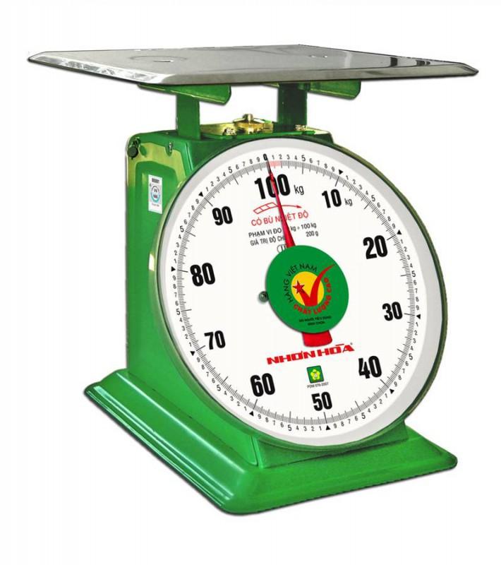 Cân đồng hồ mặt số 12 inches  120kg NHS-120-12 NHONHOASCALE