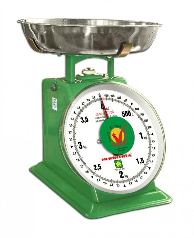 Cân đồng hồ mặt số 4kg NHS-4 NHONHOASCALE