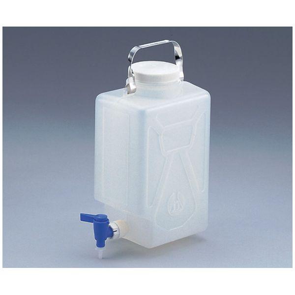 Can nhựa vuông có khóa vòi 2321-0020 ASONE