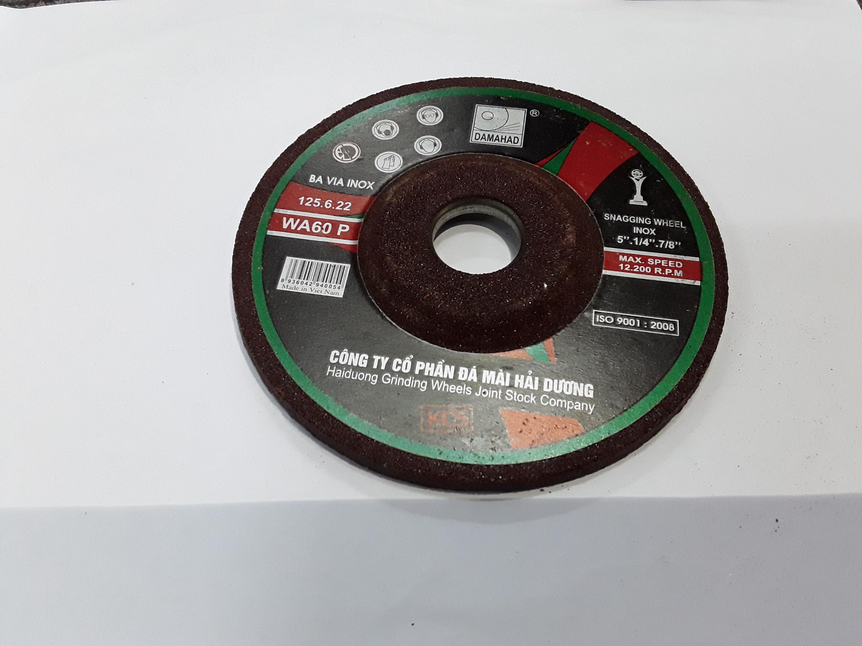 Đá mài Bavia inox 100x6x16mm TGCN-17429 HAI-DUONG