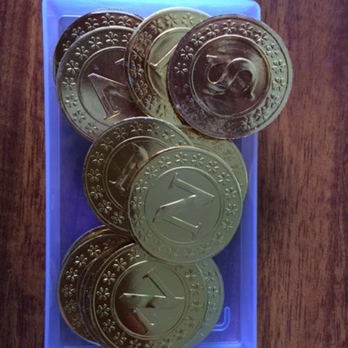 Đồng kim loại tính xác suất (hộp/20cái) TGCN-18368 Vietnam