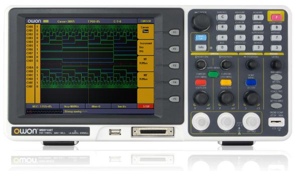 Máy hiện sóng, phân tích Logic OWON MSO7102TD OWON